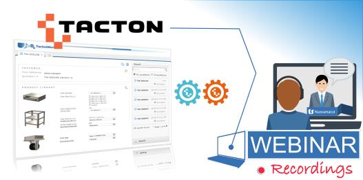 webinar tacton on demand